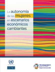 portada La autonomía de las mujeres en escenarios económicos cambiantes