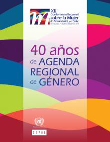 Portada 40 años de agenda regional de género
