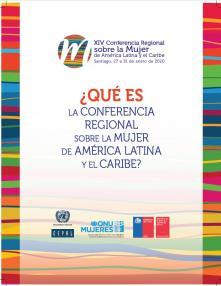 Qué es la Conferencia Regional sobre la Mujer de América Latina y el Caribe Folleto
