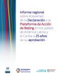 Informe regional sobre el examen de la Declaración y la Plataforma de Acción de Beijing - portada