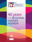 Portada  40 years of the regional gender agenda inglés